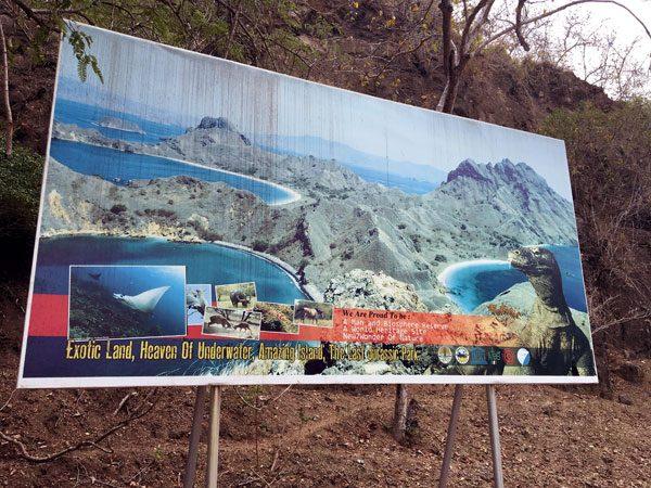 Komodo Loh Liang Billboard