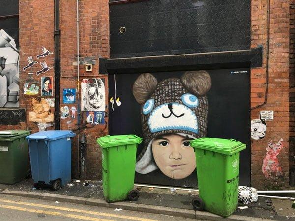Manchester Street Art Akse