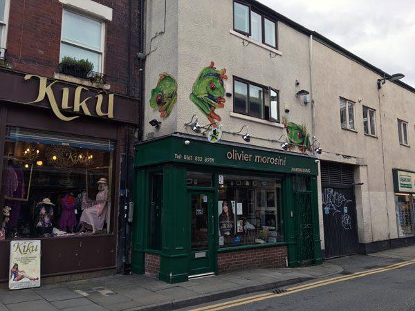 Manchester Street Art Frogs