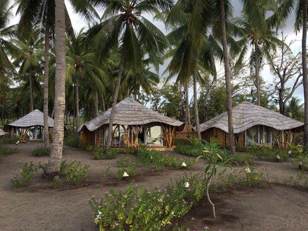 Flores Maumere Coconut Garden Huts