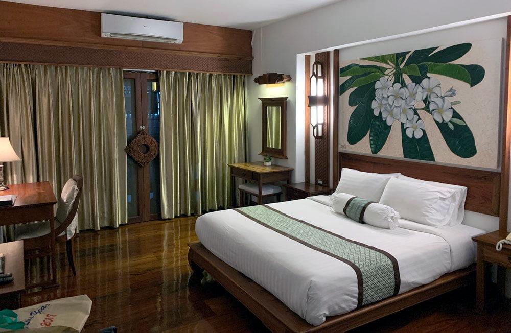Laos Vientiane Chanthapanya Hotel Room