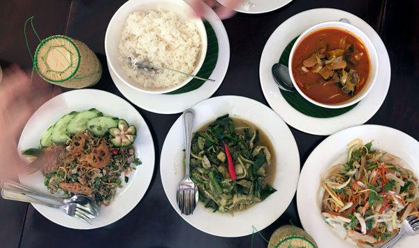 Laos Vientiane Makphet Food