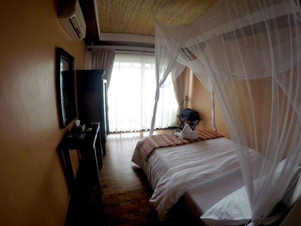 Philippines Anilao Crystal Blue Resort Room Entrance
