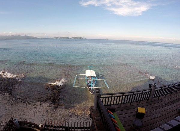 Philippines Anilao Crystal Blue Resort Shore