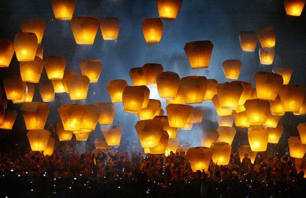 Taiwan Lantern Festival by Sheng-Fa Lin