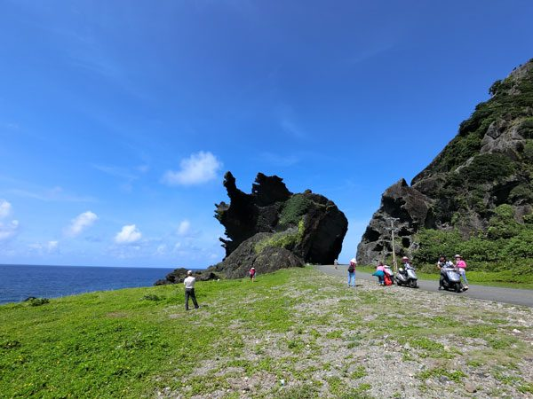 Taiwan Lanyu Dragon Head Rock