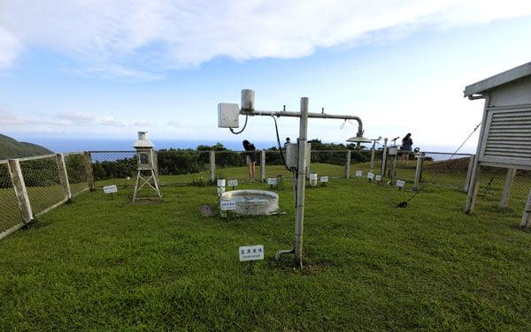 Taiwan Lanyu Weather Station Instruments