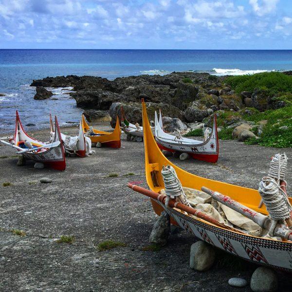 Taiwan Lanyu Yami Boats