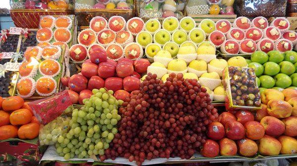 Bangkok htz market fruit