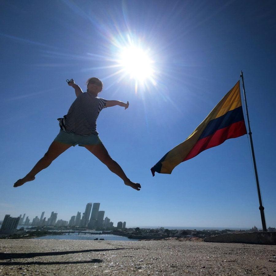 Colombia Cartagena Jumpshot