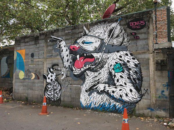 Bangkok Street Art CKR soi 32 bonus
