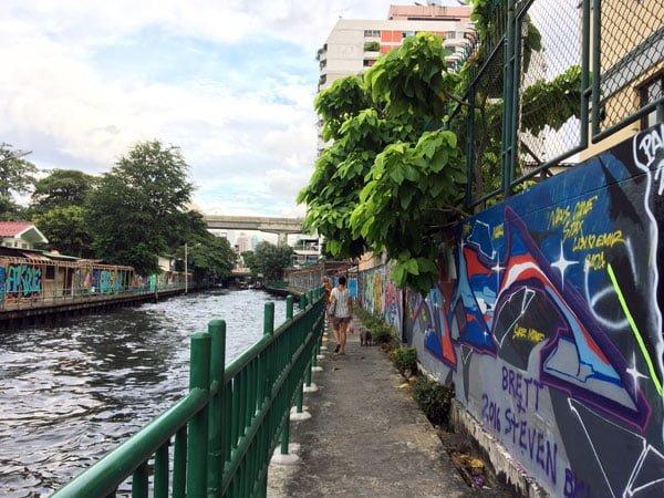 Bangkok Street Art Saen Saep Canal 5