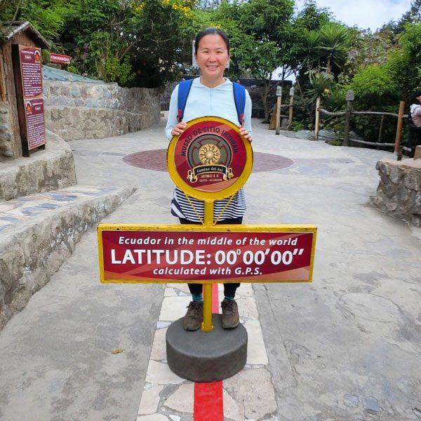 Ecuador Quito Equator Line Me