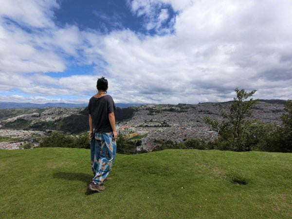Ecuador Quito Panecillo Matter