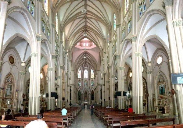 Ecuador Guayaquil Metropolitan Cathedral Inside
