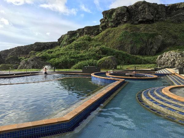Taiwan Lyudao Zhaori Hot Springs Pools