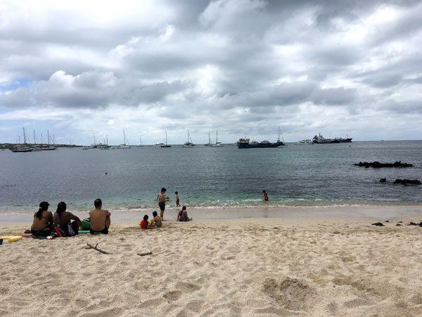 Galapagos San Cristobal Playa Mann