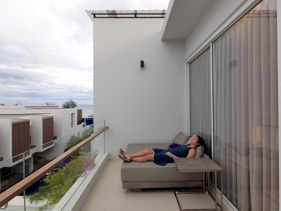Hua Hin Radisson Balcony