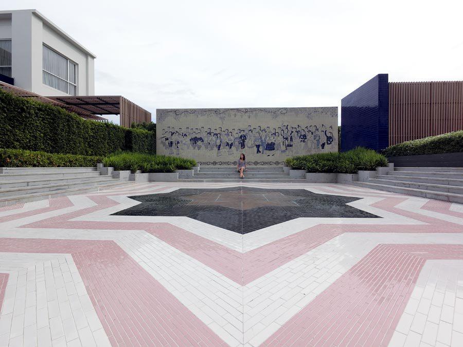 Hua Hin Radisson Wedding Courtyard