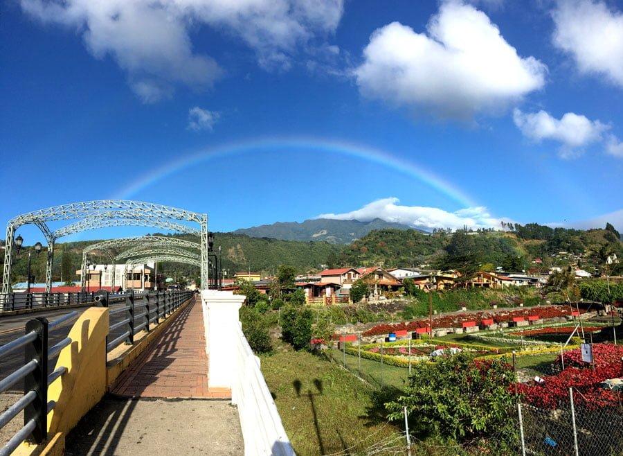 Panama Boquete Rainbow