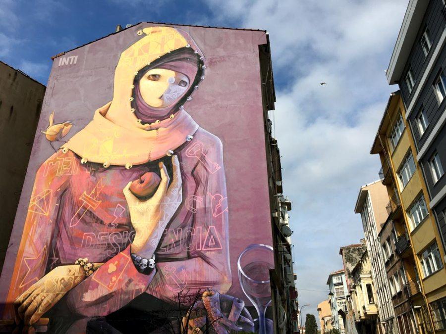 Istanbul Kadikoy Street Art Inti