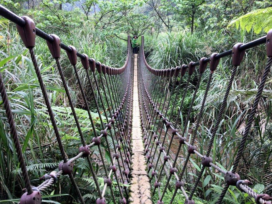 New Taipei Sandiaoling Rope Bridge
