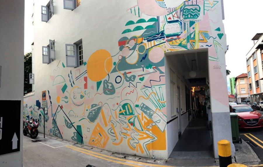 Singapore Street Art Keong Siak RippleRoot 1