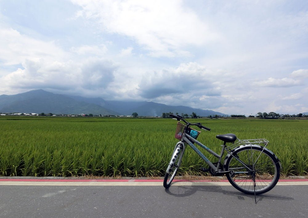 Taitung Chishang Bicycle Field