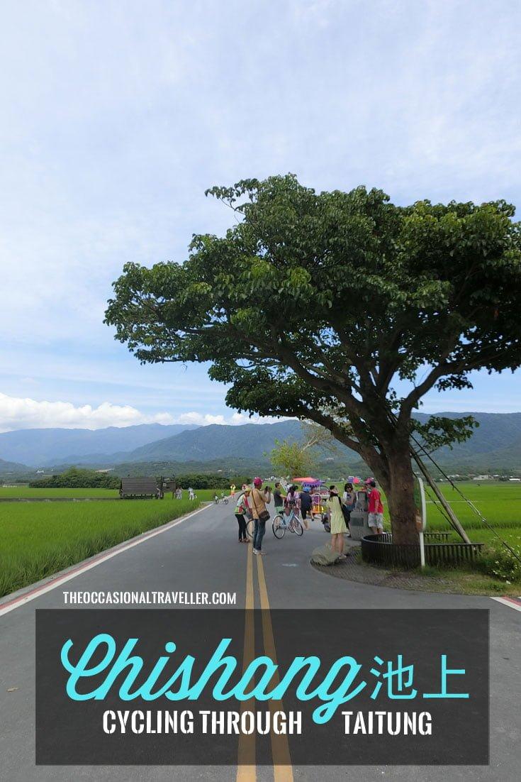 Pin it: Cycling through Chishang in Taitung