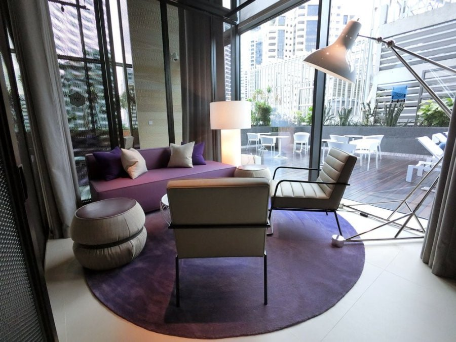Yotel Singapore Co-Working Lounge