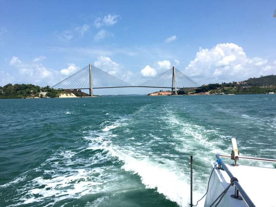 Batam Barelang Bridge Tengku Fisabilillah