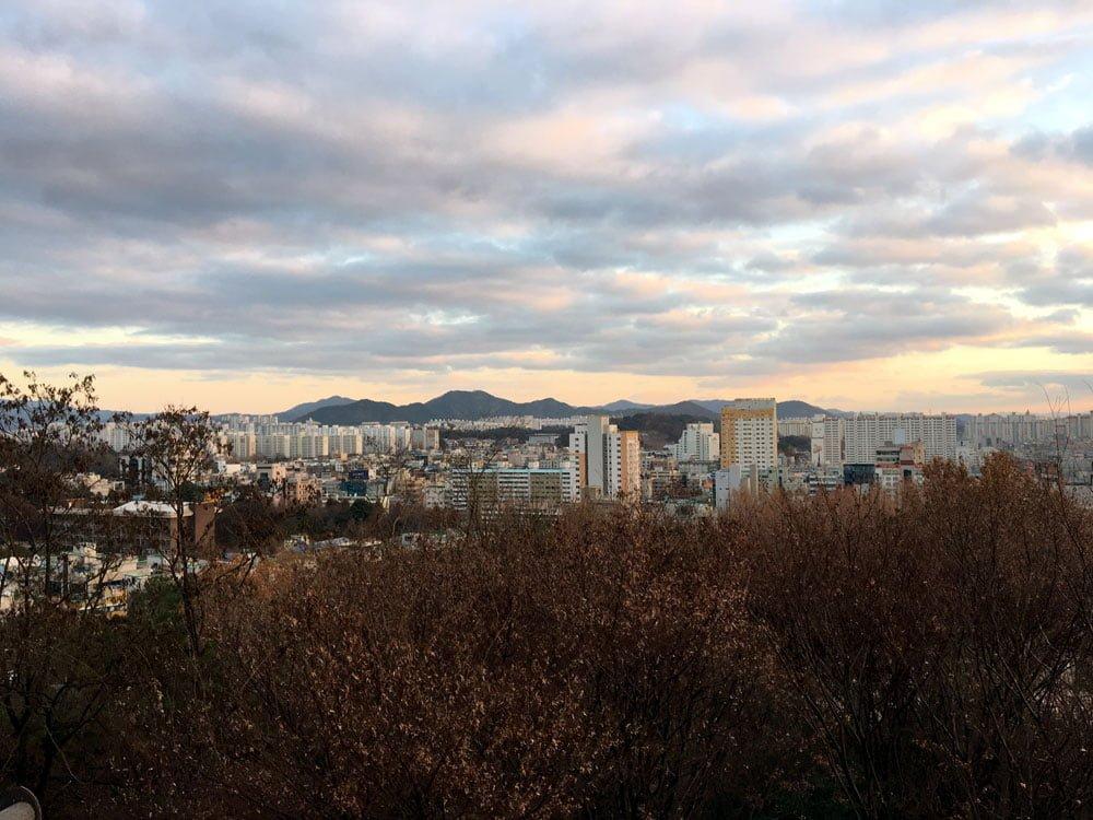 Gwangju Lookout Point View