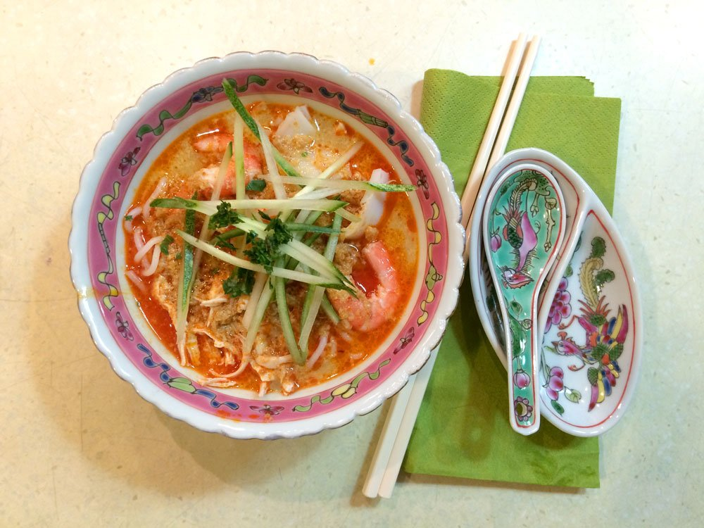 Singapore Traveling Spoon Laksa