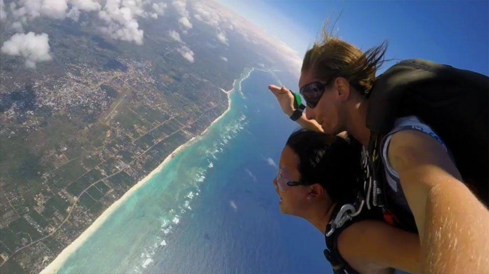 Kenya Diani Beach Skydiving Me