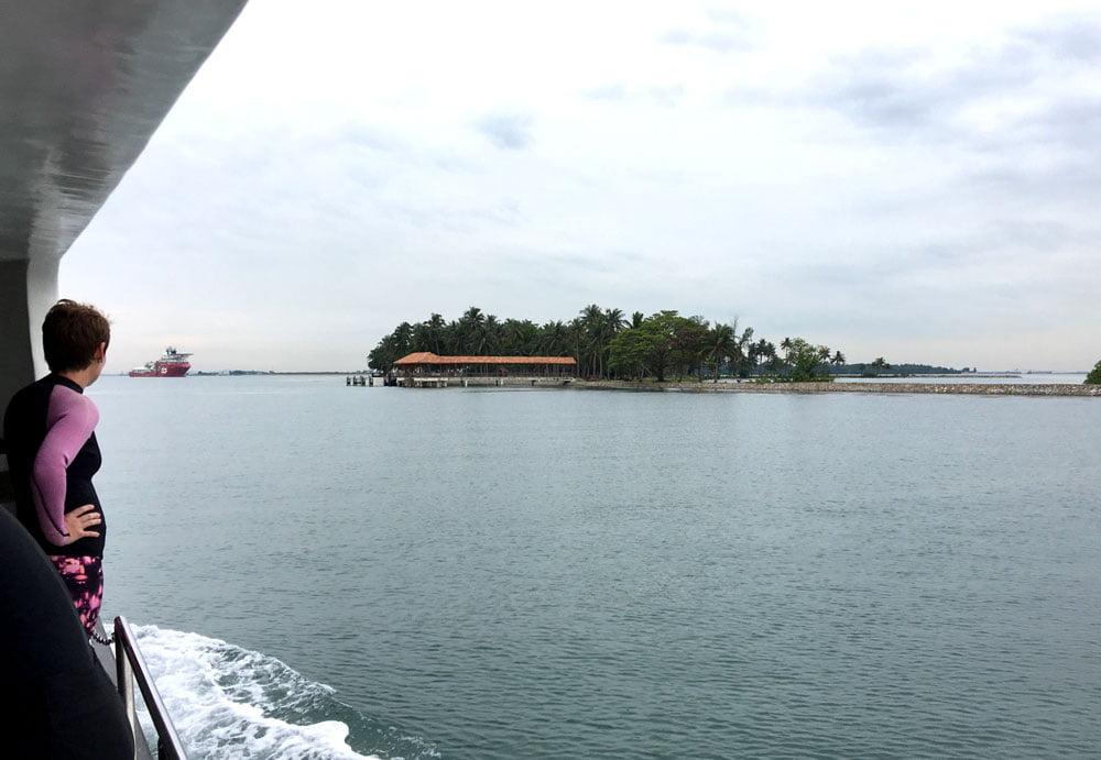 Pulau Hantu Diving Island