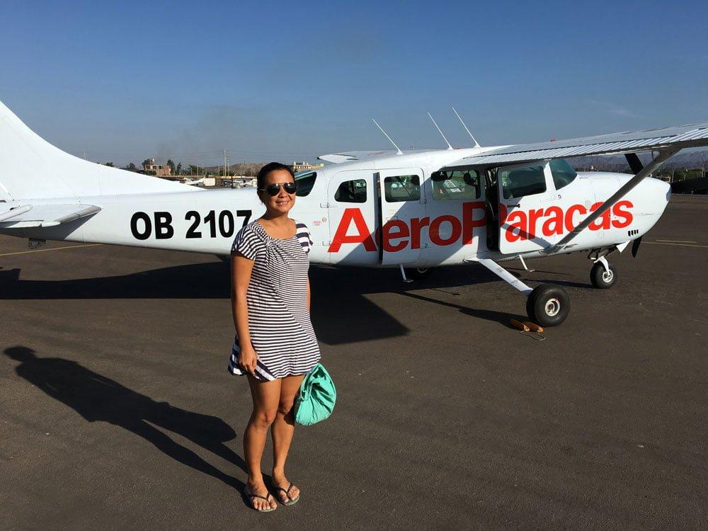 Peru Nazca Plane Me
