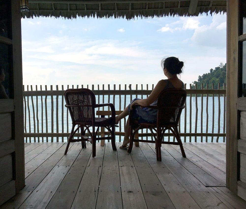 Telunas Beach Resort Room Balcony Me