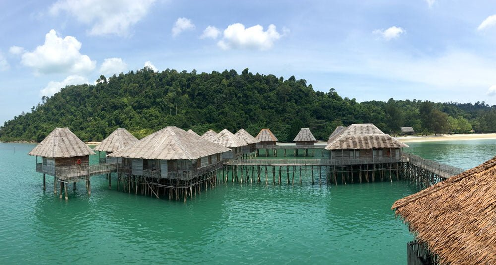 Telunas Beach Resort View
