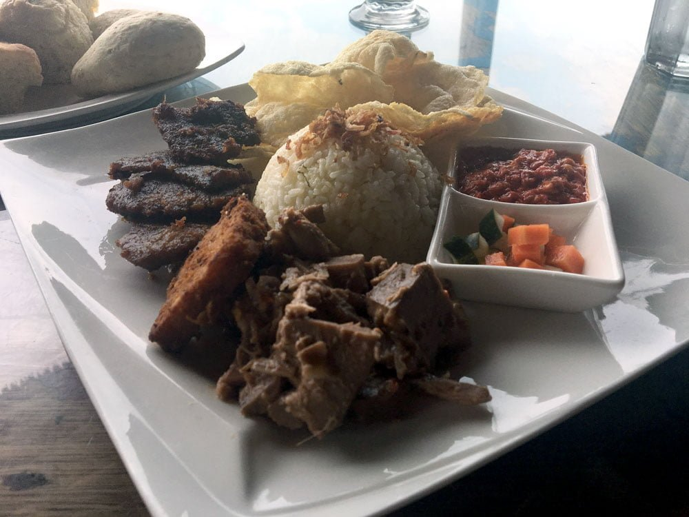 Telunas Private Island Lunch