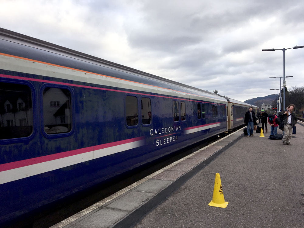 London To Scotland On The Caledonian Sleeper Train The