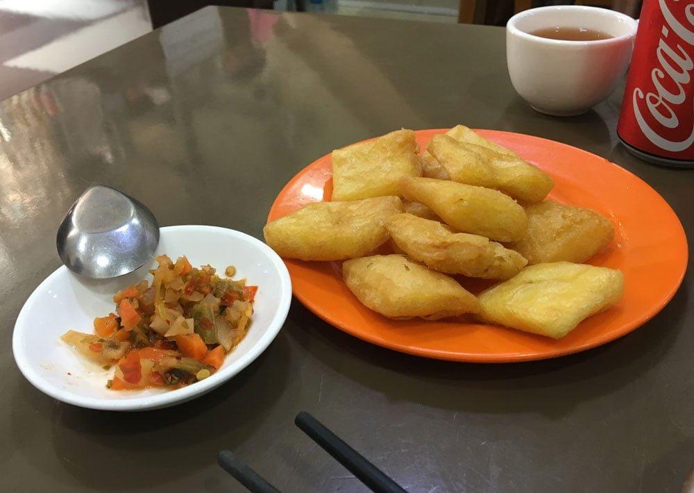 Yangon 999 Shan Noodle Fried Beancurd