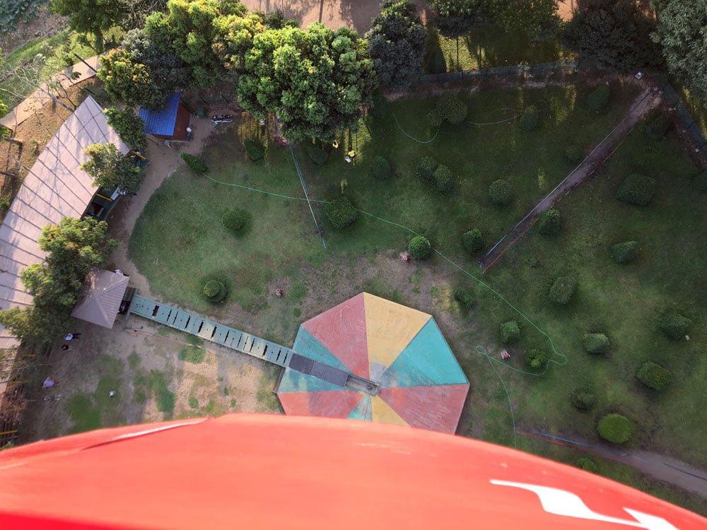 Yangon Mingalabar Balloon Looking Down