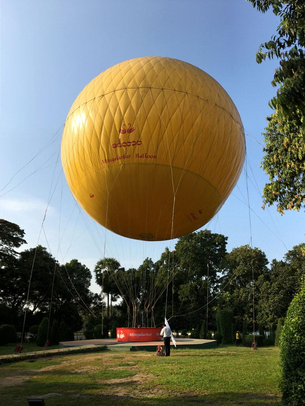 Yangon Mingalabar Balloon