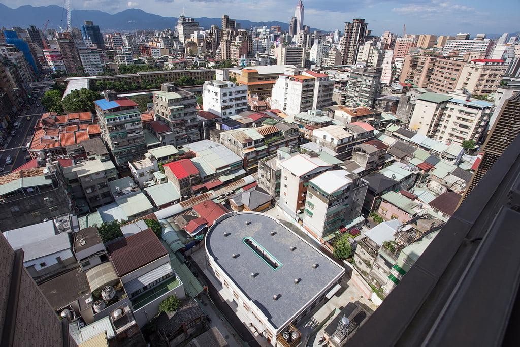 Taipei Xinfu Market Umkt Aerial