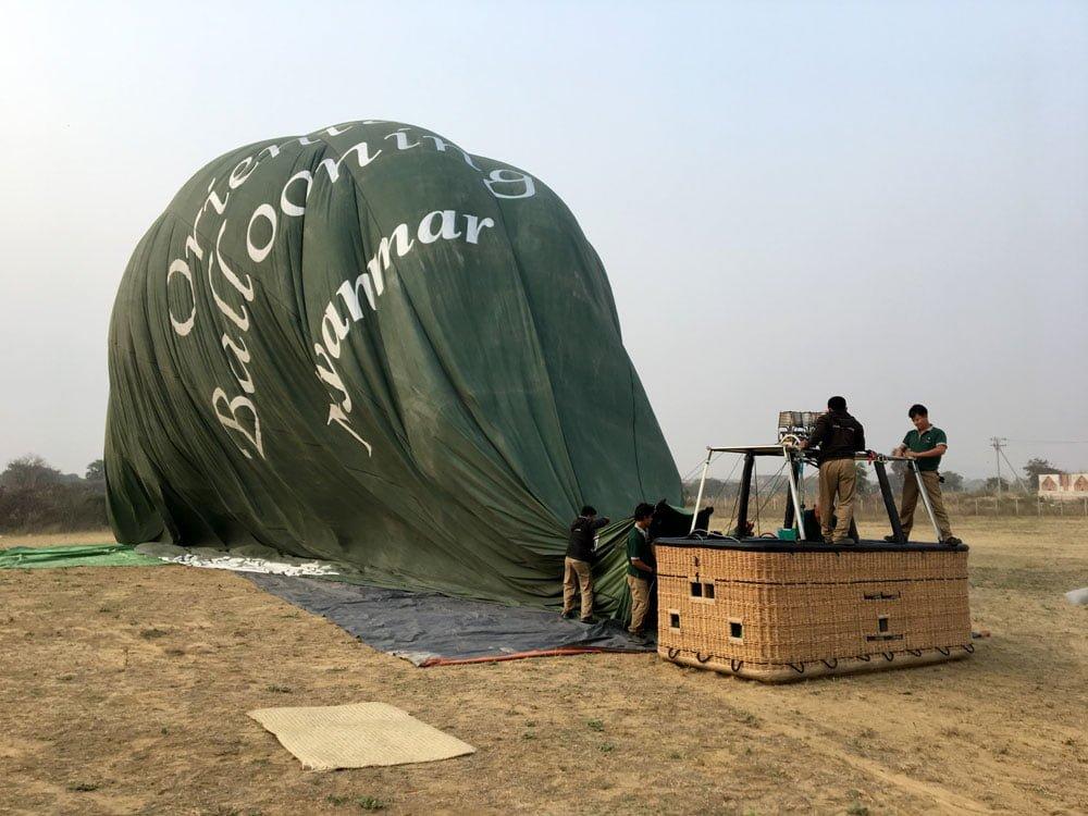 Bagan Ballooning Deflating