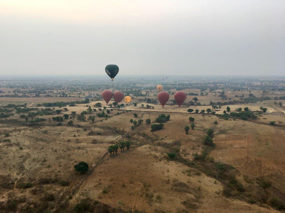 Bagan Ballooning Landing Site