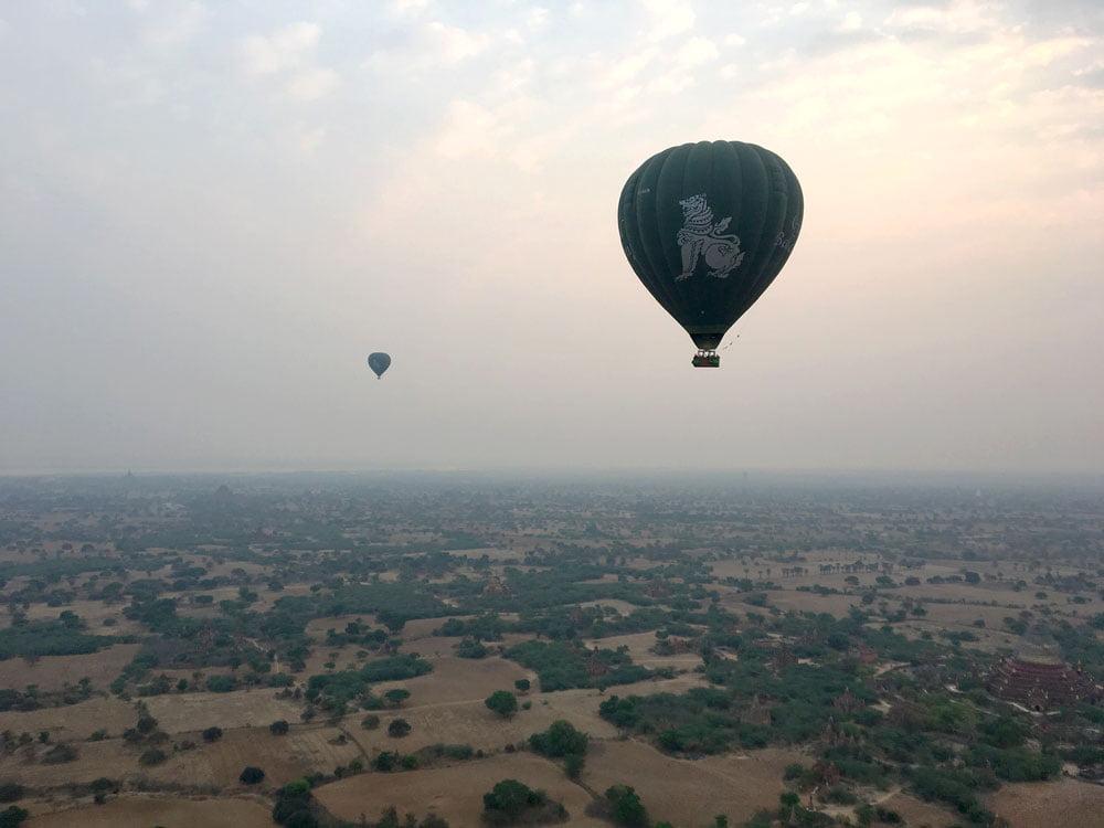Bagan Ballooning Orient Balloons Sunrise