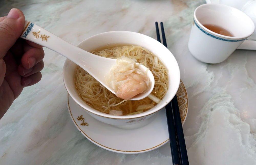 Hong Kong Harbour City Maks Wanton Noodles