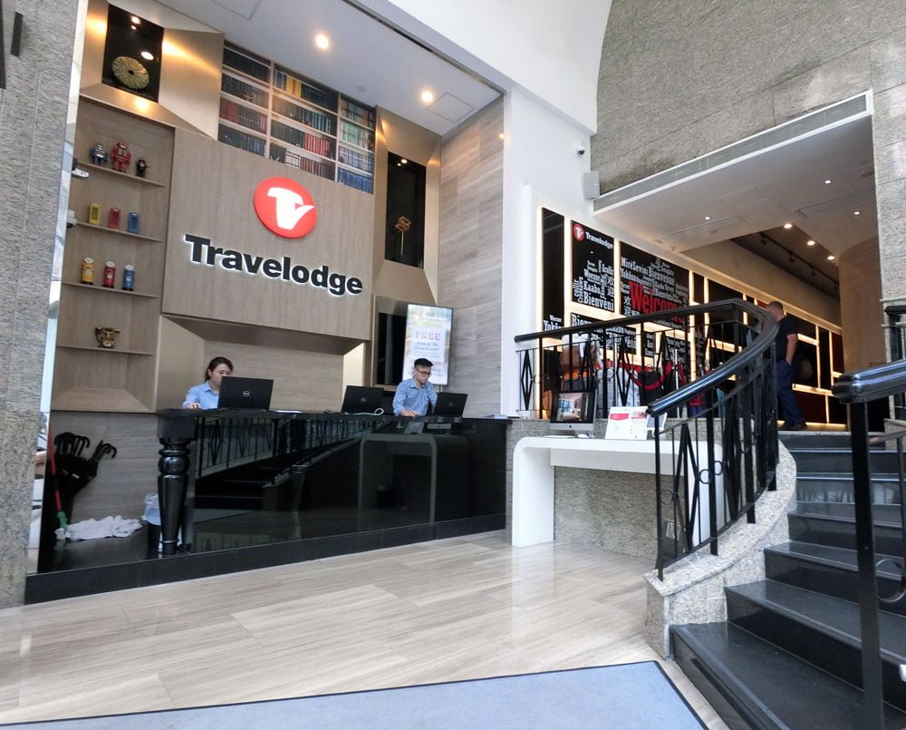 Hong Kong Travelodge Lobby
