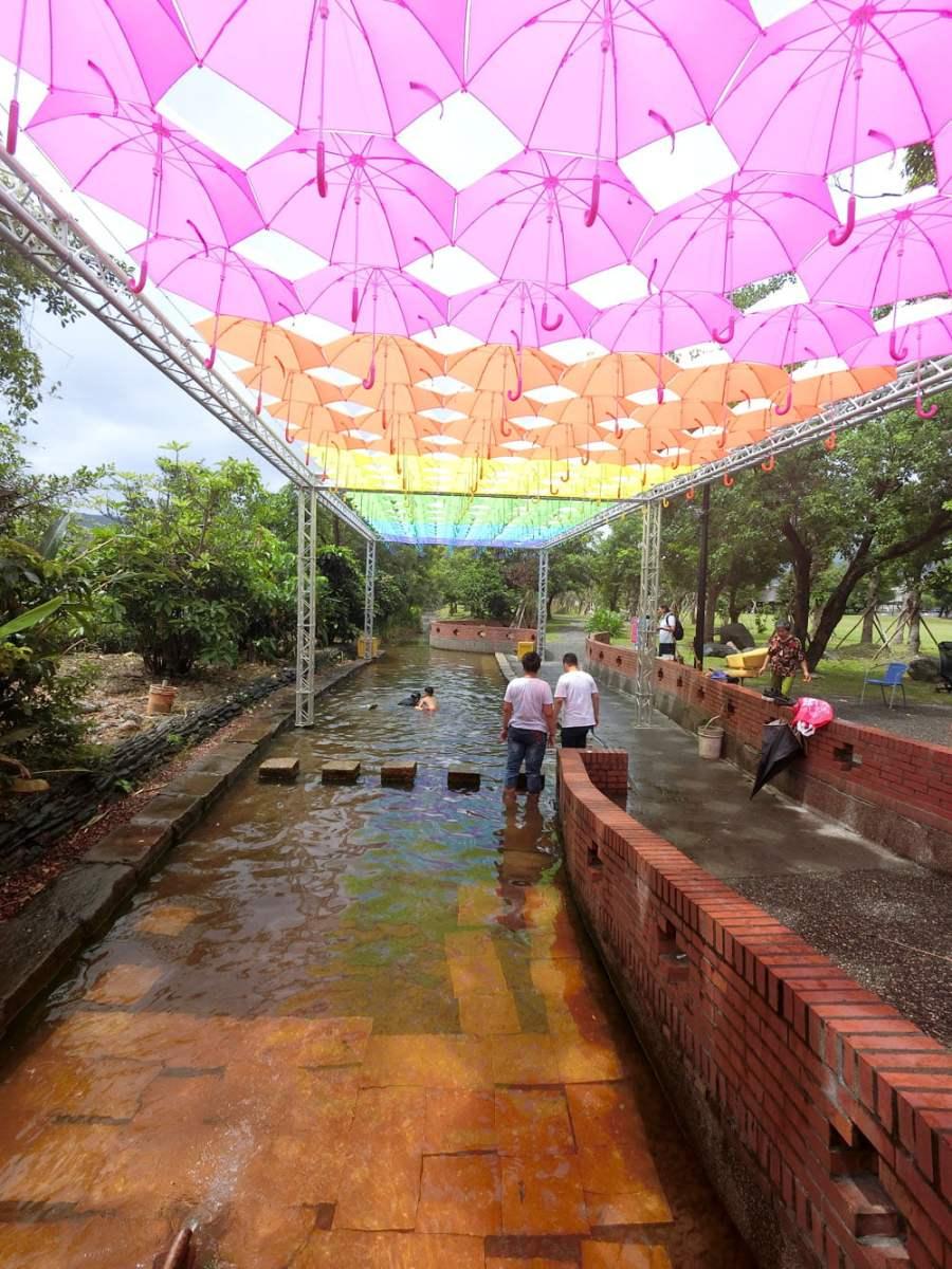 Suao Cold Spring Stream Umbrellas